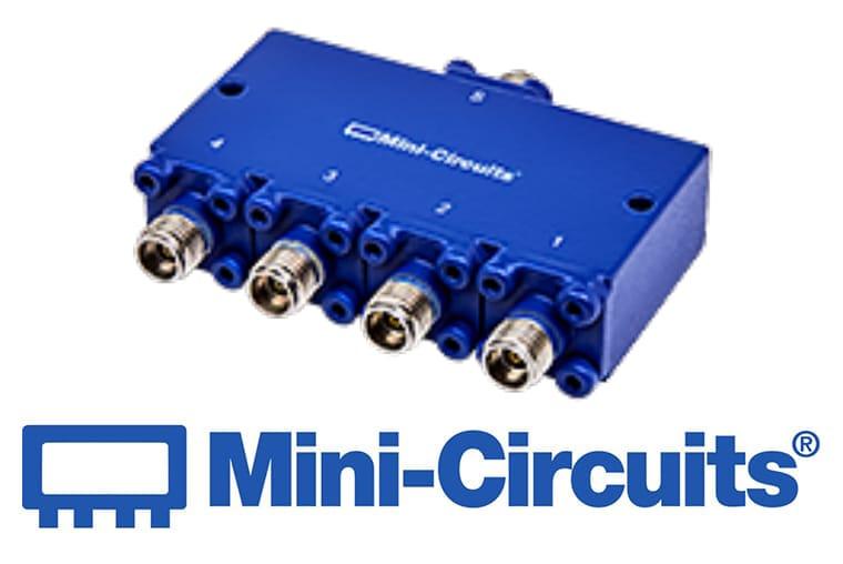 Mini Citcuits - 4-Weg Splitter / Combiner bis 50 GHz<br>ZC4PR-V1854+