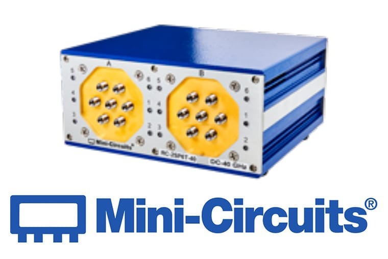 Mini Citcuits - Doppelter 4-fach-Umschalter, mechanisch<br>SP6T