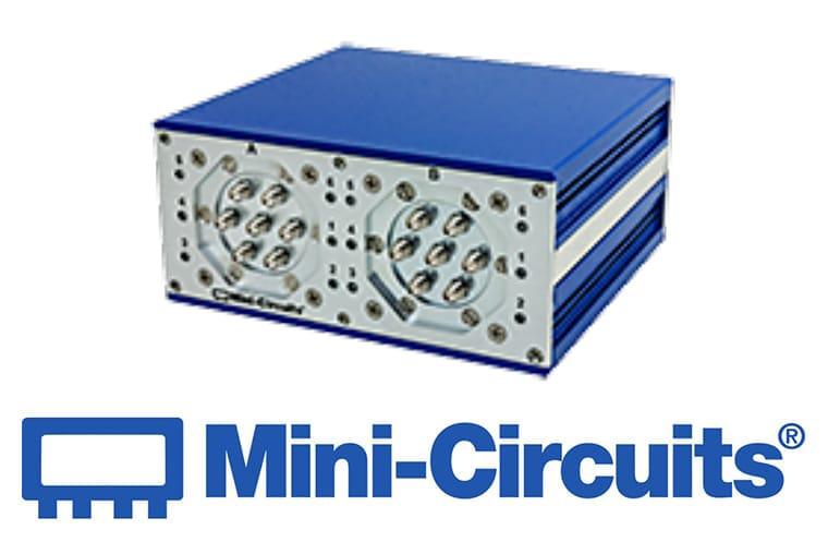 Mini Citcuits - Doppelter 6-fach Umschalter, ansteuerbar über USB oder Ethernet<br>RC-2SP6T-26