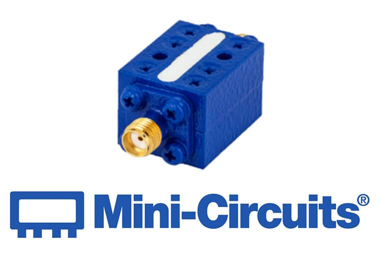 """Mini Citcuits - Der """"Suspended-Substrat"""" Tiefpass-Filter bietet einen weiten Durchlassbereich von DC – 14 GHz<br>ZLSS-14GHz-S+"""