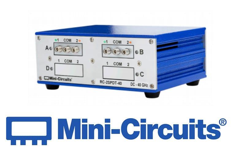 Mini Citcuits - Mechanischer Zweifach-Umschalter arbeitet von DC – 40 GHz<br>RC-2SPDT-40