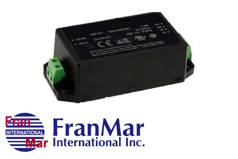 Mini Citcuits - AC/DC-Netzteil-Module der FMM-Serie<br>FranMar's Module-compact Series, Encapsulated with Terminal