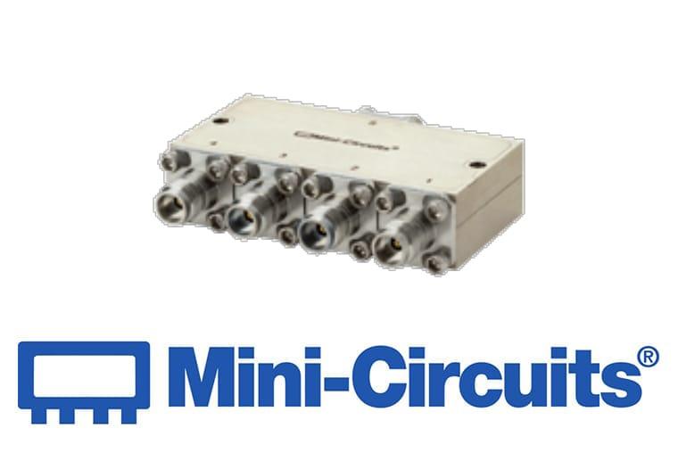 Mini Citcuits - 4-fach-Power-Splitter arbeitet im Frequenzbereich von 18 – 44 GHz<br>ZC4PD-V18443+